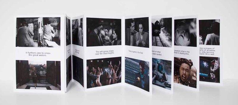Image Vanishes folding book
